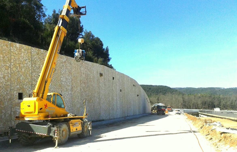 Nuovo Farma – Muri di sostegno e lastre di rivestimento