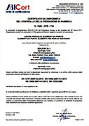 Certificato CE Forlimpopoli