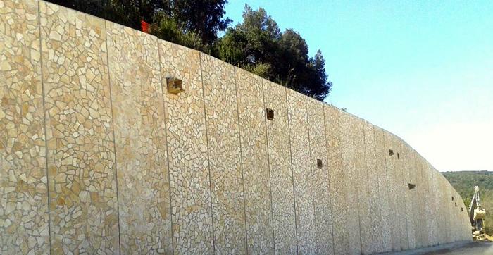 Lastre rivestite in pietra